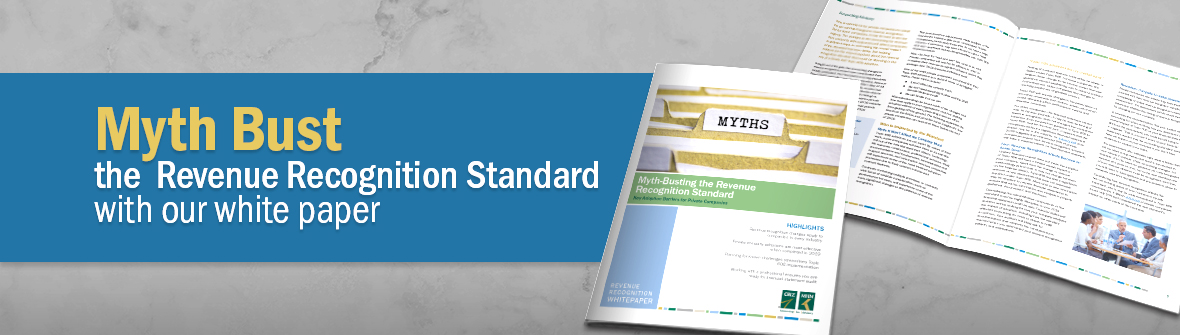 Myth-Busting the Revenue Recognition Standard